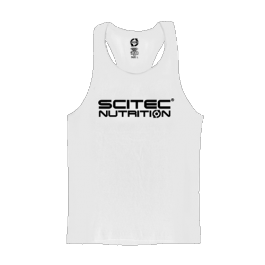 Scitec Nutrition - Tank Top - Racerback White
