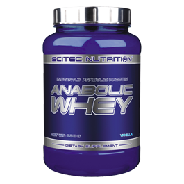 Scitec Nutrition - Anabolic Whey, 900g Dose
