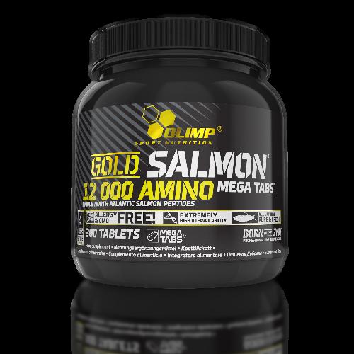 Olimp - Gold Salmon 12000 Mega Tabs, 300 Tabletten