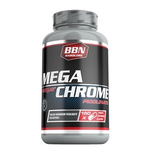 BBN Hardcore - Mega Chrom Picolinate 150, 150 Kapseln