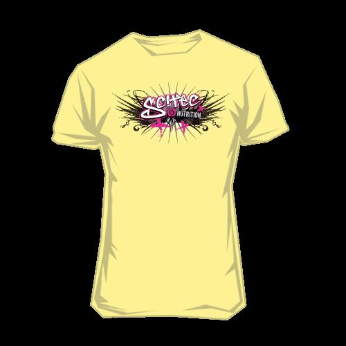Scitec Nutrition - T-Shirt - Graffiti Yellow