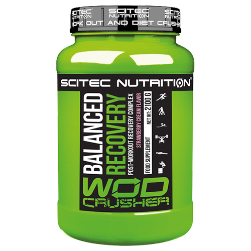 Scitec Nutrition - Wod Crusher - Balanced Recovery, 2100g Dose