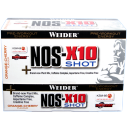 Weider - Nos-X10 Shot, 12x60ml