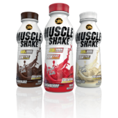 All Stars - Muscle Shake, 12x500ml Flaschen