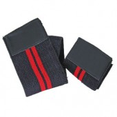 Best Body Nutrition - Handgelenkbandage black red - Paar