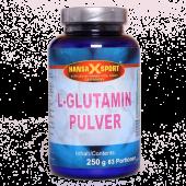 Hansa X Sport - L-Glutamin Pulver, 250g Dose