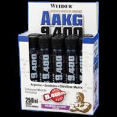 Weider -  AAKG 9.400, 10x25ml Ampullen