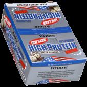 Weider - 40% Low Carb High Protein Bar, 25 Riegel a 50g