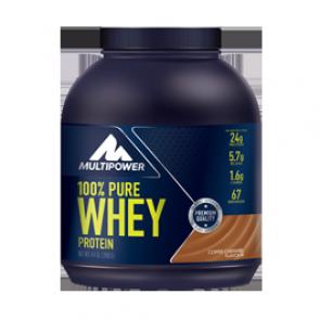 Multipower - 100% Pure Whey Protein, 900g Dose (Nahrungsergänzungsmittel)