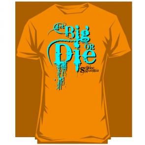 Scitec - T-Shirt - Get Big Or Die!