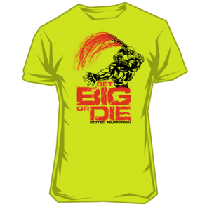 Scitec - T-Shirt - Get Big Or Die! 3