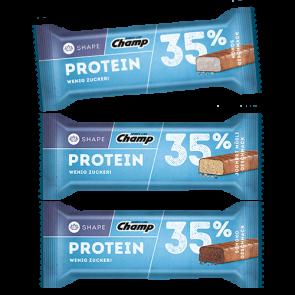 Champ - Protein Bar 35%, 24 Riegel a 35g