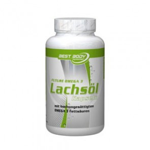 Best Body Nutrition - Lachsöl Kapseln, 150 Stück