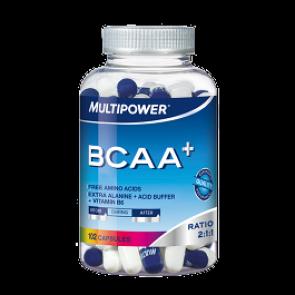 Multipower - BCAA+, 102 Kapseln (Nahrungsergänzungsmittel)