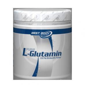 Best Body Nutrition - L-Glutamin Pulver, 250g Dose