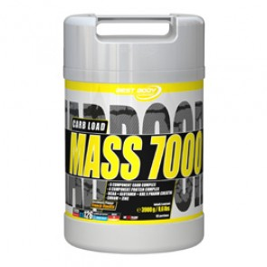 Best Body Nutrition - Hardcore Mass 7000, 3900g Dose