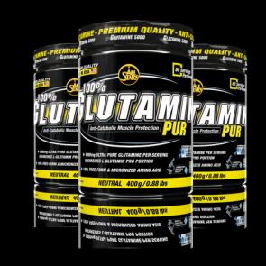 All Stars - 100% Glutamin Pur, 400g Dose (Nahrungsergänzungsmittel)