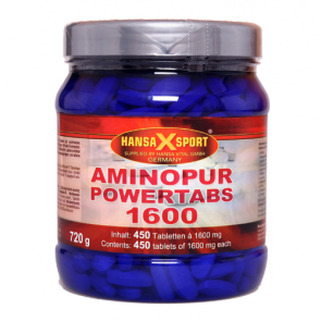 Hansa X Sport - AminoPur Powertabs 1600, 450 Tabletten