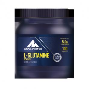 Multipower - L-Glutamine Powder, 500g Dose (Nahrungsergänzungsmittel)
