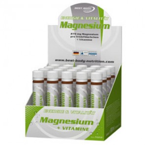 Best Body Nutrition - Magnesium Ampullen, 20x25ml Ampullen