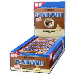 Weider - 32% Whey Wafer Riegel
