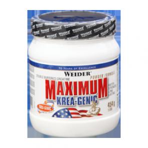 Weider - Maximum Krea-Genic Pulver, 454g Dose (Nahrungsergänzungsmittel)
