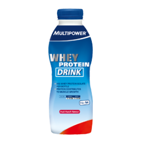 Multipower - Whey Protein Drink, 12x500ml