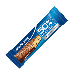 Multipower - 50% Protein Bar, 24 Riegel a 50g