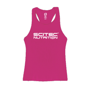 Scitec Nutrition - Tank Top - Racerback Pink Girl