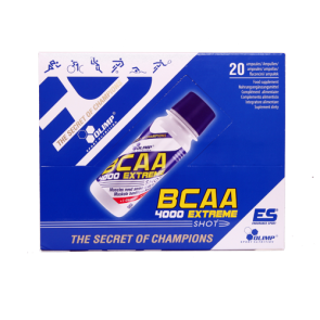 Olimp - BCAA 4000 Extreme Shot, 20x60ml