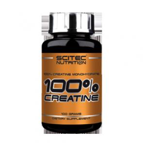 Scitec Nutrition - 100% Creatine, 100g Dose
