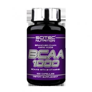 Scitec Nutrition - BCAA 1000, 100 Kapseln
