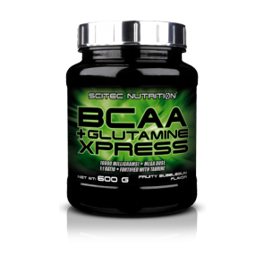 Scitec Nutrition - BCAA + Glutamine XPress, 600g Dose (Nahrungsergänzungsmittel)