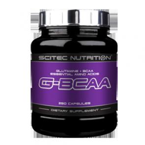 Scitec Nutrition - G-BCAA, 250 Kapseln