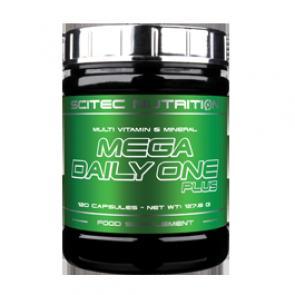 Scitec - Mega Daily One Plus, 120 Kapseln