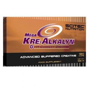 Scitec Nutrition - Mega Kre-Alkalyn, 120 Kapseln