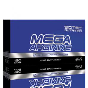 Scitec Nutrition - Mega Arginine, 120 Kapseln