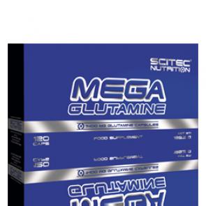 Scitec Nutrition - Mega Glutamine, 120 Kapseln