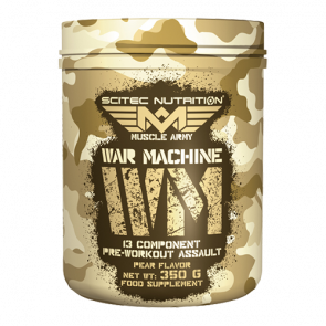 Scitec Nutrition - Muscle Army - War Machine, 350g Dose