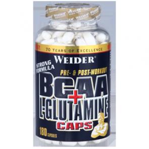 Weider - BCAA + L-Glutamine, 180 Kapseln