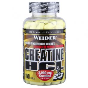 Weider - Creatine HCL, 150 Kapseln (Nahrungsergänzungsmittel)