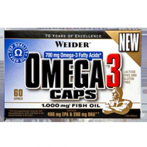 Weider - Omega 3 Caps, 60 Stk.
